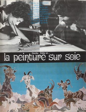 gutta pour peinture sur soie