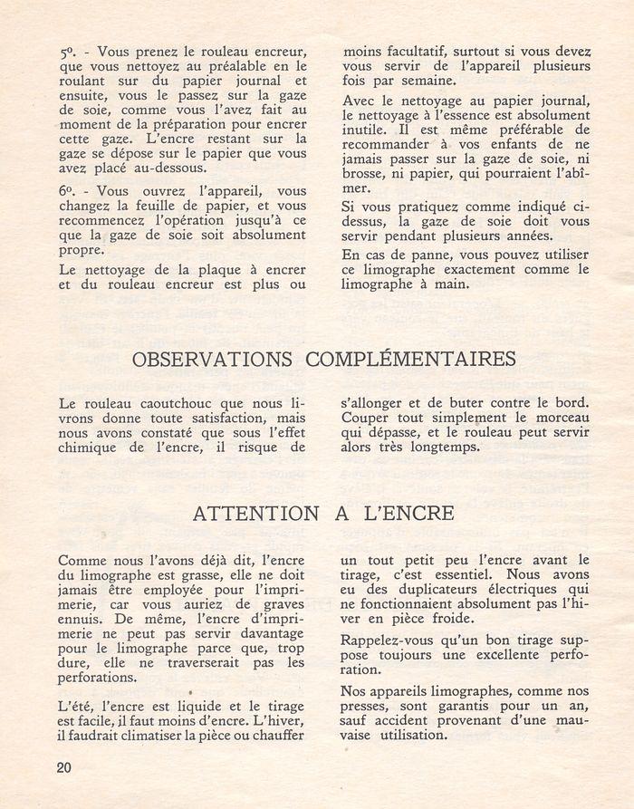 Les dossiers p dagogiques de l ducateur n 1 le limographe for Nettoyer vitre papier journal