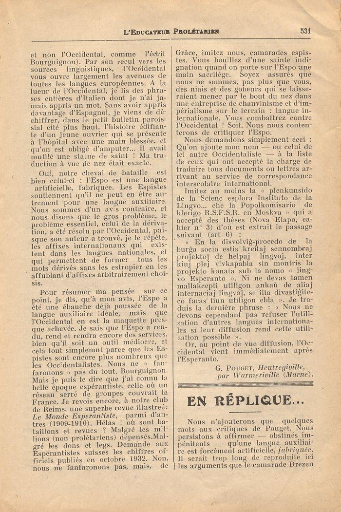leducateur prol233tarien n17610 juillet 1933
