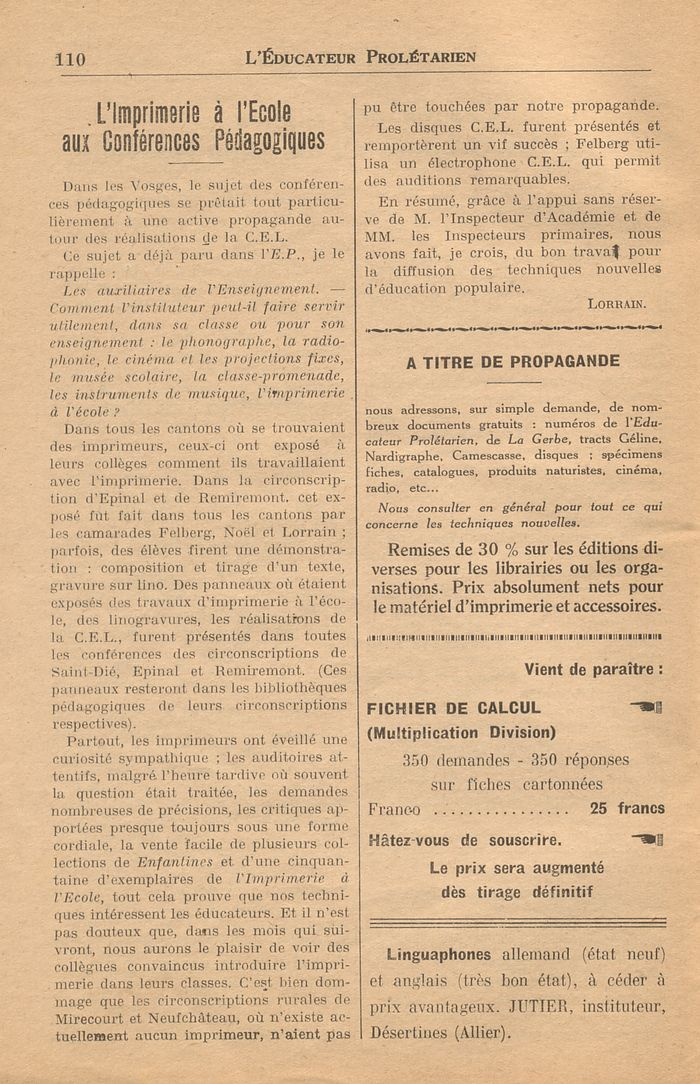 leducateur prol233tarien n1765 30 novembre 1936