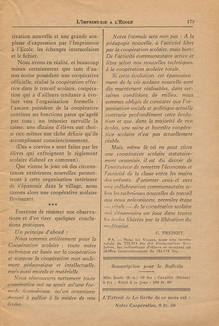 limprimerie 224 l233cole n17650 mars 1932