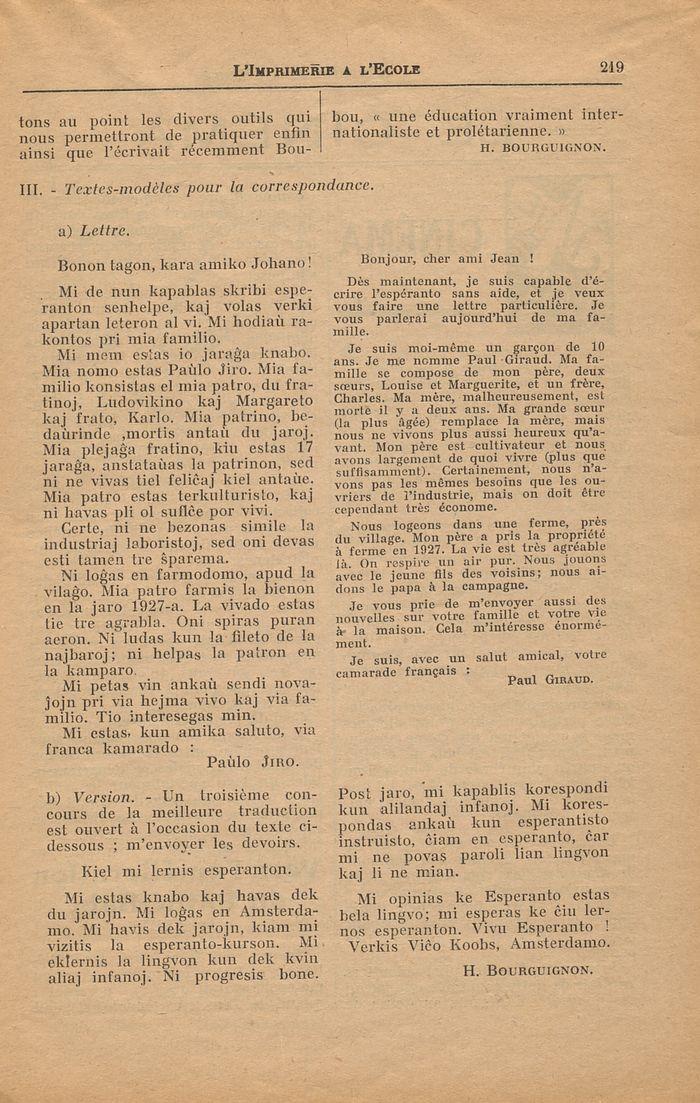 limprimerie 224 l233cole n17651 avril 1932