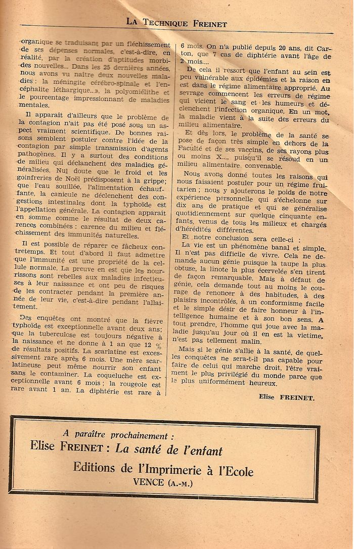 brochure d 39 education nouvelle populaire n 4 janvier 1938. Black Bedroom Furniture Sets. Home Design Ideas